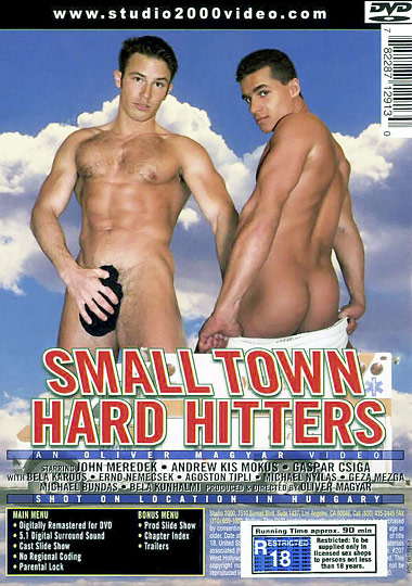 Small Town Hard Hitters Cover Back