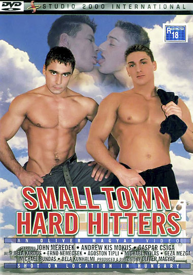 Small Town Hard Hitters Cover Front