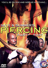 Skye And Summer's Piercing Party