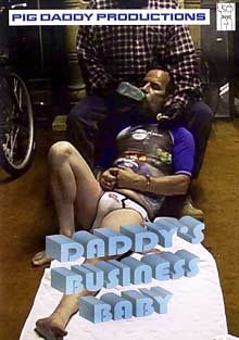 Daddy's Business Baby cover