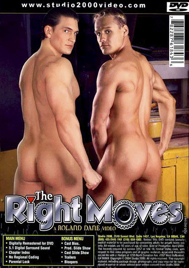 The Right Moves Cover Back