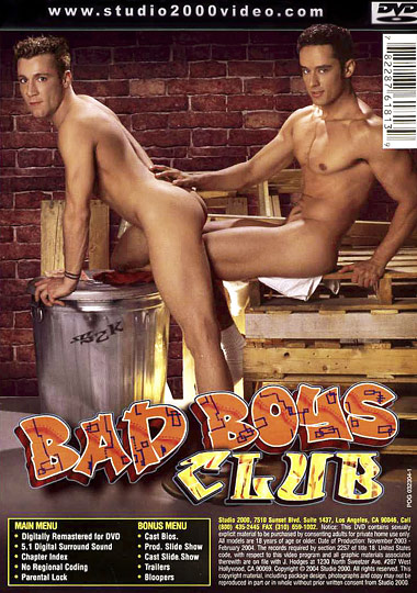 Bad Boys Club 1 Cover Back