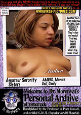 Welcome To Dr. Moretwat's Personal Archive Of Homemade Porno Amateur Sorority Sisters