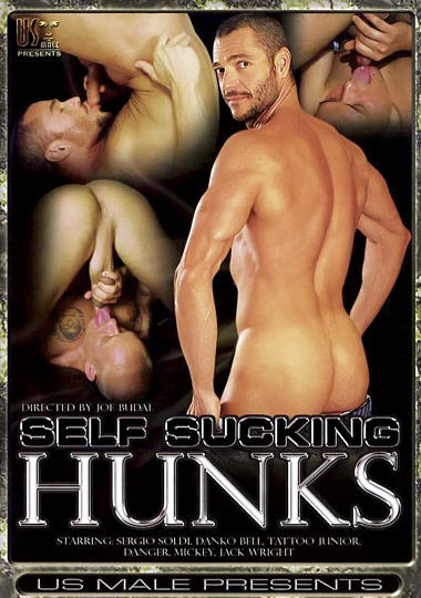 Self Sucking Hunks 1 Cover Front