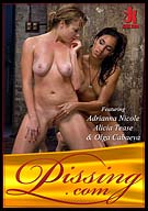 Pissing: Adrianna Nicole And Alicia Tease