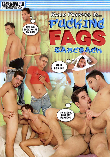 Fucking Fags Bareback 1 Cover Front