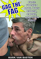 Gag The Fag Exposed: Mark Van Basten Gagged By Vic Ripper, Wayne Kyak, and Kshom
