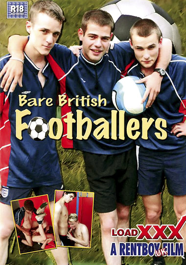 Bare British Footballers Cover Front