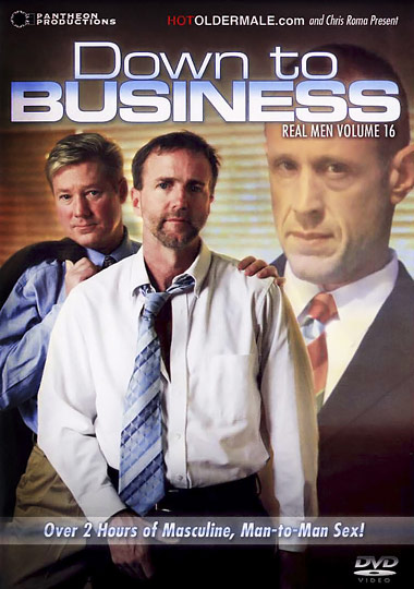 Real Men 16 Down to Business Cover Front