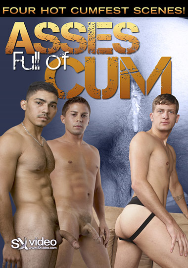 Asses Full of Cum Cover Front