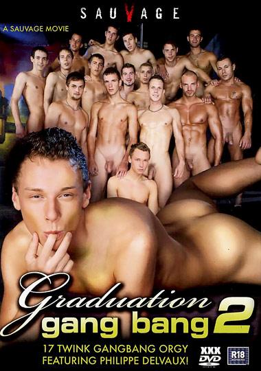 Graduation Gang Bang 2 Cover Front