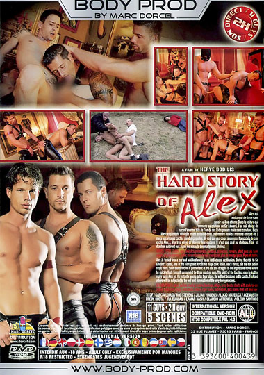 The Hard Story of Alex/Tough Types Cover Back