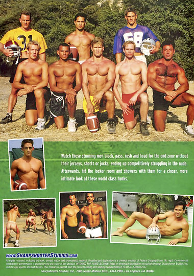 The Naked Football League Cover Back