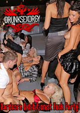 Drunk Sex Orgy: Hardcore Exibitionist Fuck Party