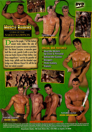Muscle Raiders Curse of the Naked Scorpion Cover Back