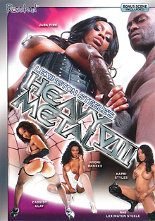 Lexington Steele's Heavy Metal 8 cover