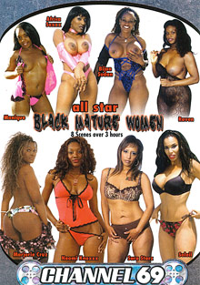 All Star Black Mature Women cover