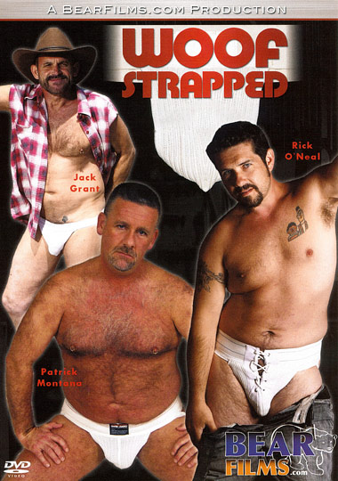 Woof Strapped Cover Front