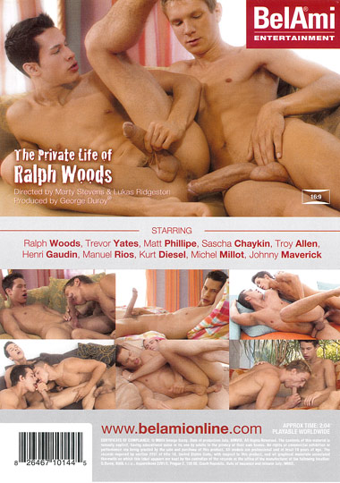 The Private Life of Ralph Woods Cover Back