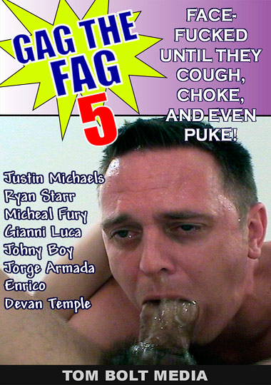 Gag the Fag 5/ Gag the Fag 5 Raw Cover Front
