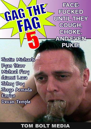 Gag the Fag 5 aka Gag the Fag 5 Raw Cover Front