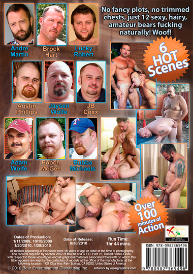 All Amateur Bears 5 Cover Back