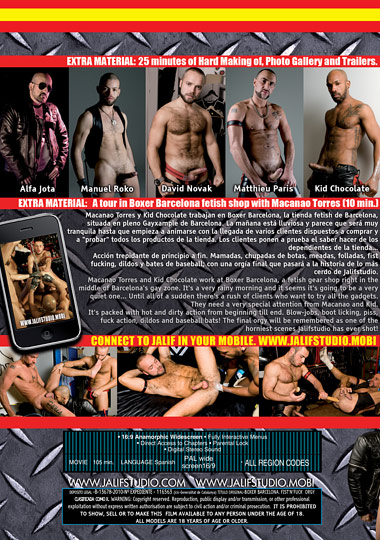 Fist N Fuck Orgy Boxer Barcelona Cover Back