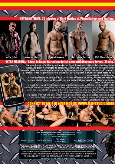 Fist N Fuck Orgy Boxer Barcelona Cover Back