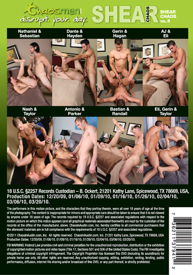 Shear Chaos 06 Creampie Edition Cover Front