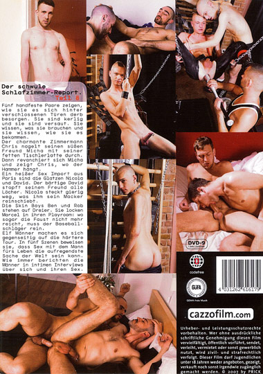 Berlin Privat 8 Sleazy Couples Cover Back