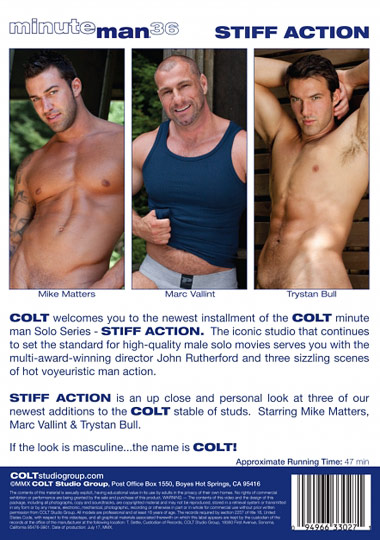 Minute Man Solo 36 Stiff Action Cover Back