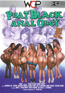 Phat Black Anal Orgy cover