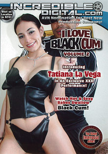 I Love Black Cum 2 cover