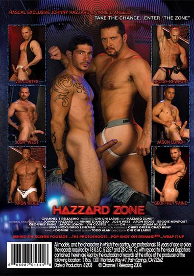 Hazzard Zone Cover Back