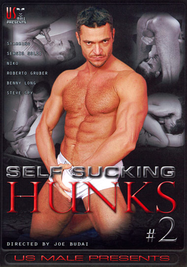 Self Sucking Hunks 2 Cover Front