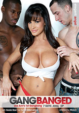 gang banged, gangbang, lisa ann, interracial, dp, anal, elegant angel