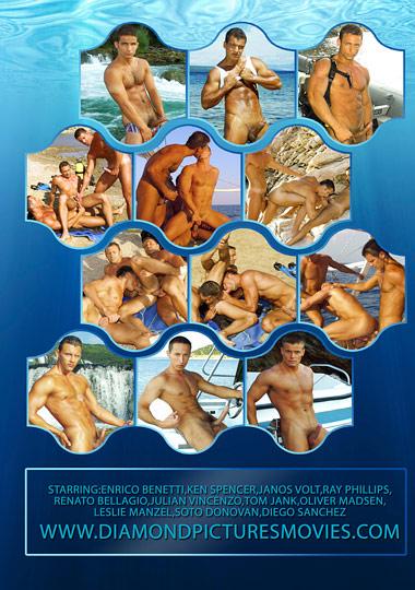 Men of Diving 3 Cover Back
