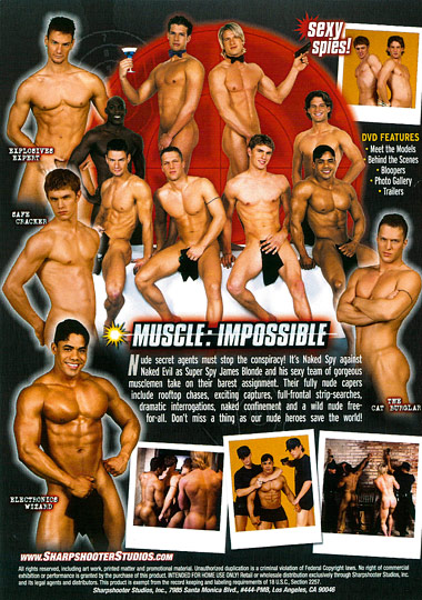 Muscle Impossible Cover Back