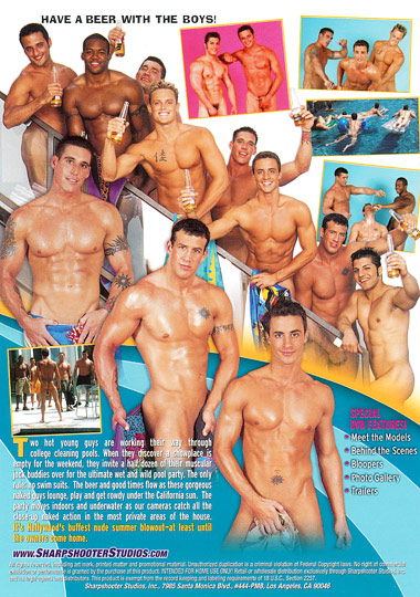 Fratboys Wet and Wild Cover Back