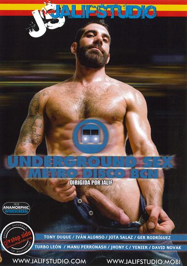 Underground Sex Metro Disco BCN Cover Front
