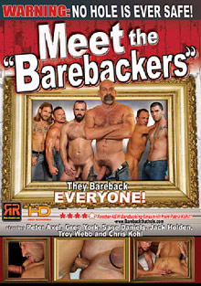 Meet The Barebackers cover