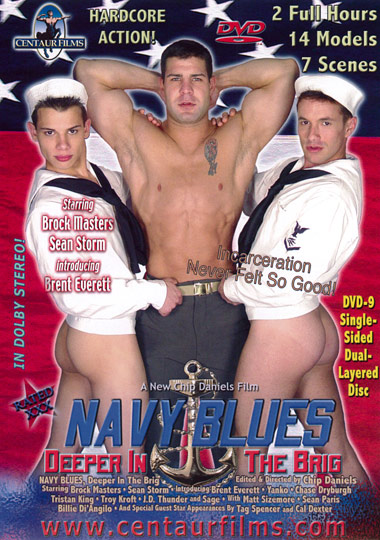Navy Blues Deeper in the Brig Cover Front