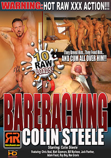 Barebacking: Colin Steele cover