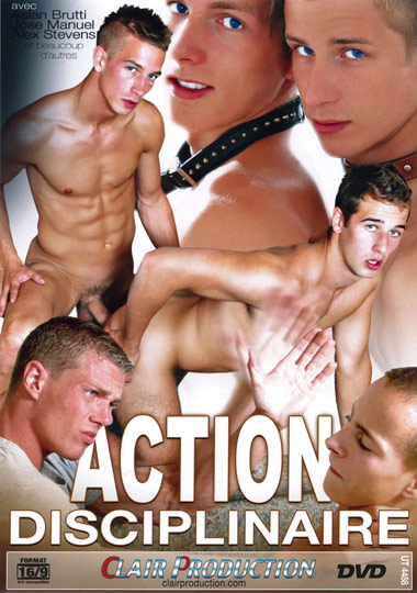 Action disciplinaire Cover Front