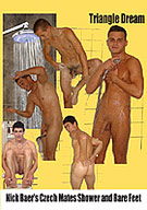 Nick Baer's Czech Mates Shower And Bare Feet