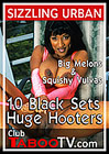 10 Black Sets Huge Hooters