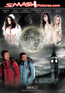 An American Werewolf In London XXX Parody cover