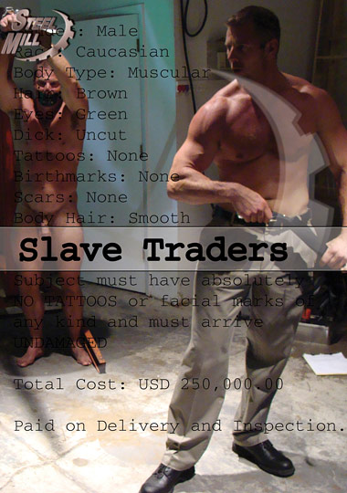Slave Traders Cover Front