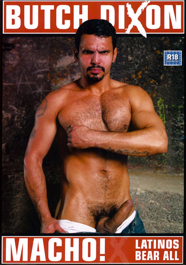 Macho Latinos Bear All Cover Front
