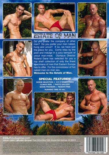 Estate of Man Cover Back